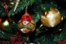 Free Christmas Ornaments Stock Images - 3860134