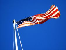 Old Glory V1 Royalty Free Stock Photography