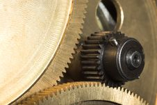 Free Sprocket Close-up2 Royalty Free Stock Images - 3860909