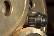 Free Sprocket Close-up1 Royalty Free Stock Images - 3861039
