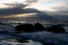 Free Wave In Crimea Stock Photography - 3861432