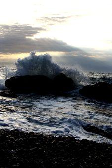 Free Wave In Crimea Stock Image - 3861451