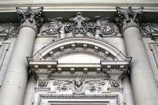 Free Berliner Dom, Portal Stock Image - 3861571