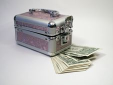 Free Retro Cascet And Cash Royalty Free Stock Image - 3861916