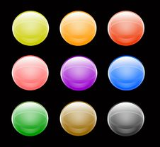 Free Buttons Royalty Free Stock Images - 3862209