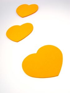Free Paper Symbol As Heart Stock Photo - 3863040