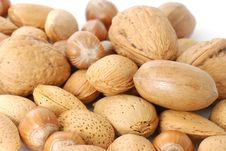 Free Mix Of Nuts Royalty Free Stock Images - 3863369