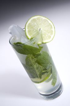 Free Tilted Mojito Stock Photo - 3863500
