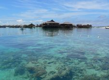 Free Mabul Island, Fishing Village Royalty Free Stock Photos - 3863858