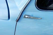 Free Fiat 600 Side Light Stock Photography - 3864162