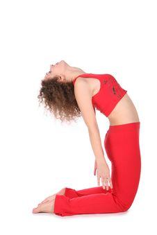 Free Ralaxing Yoga Girl Royalty Free Stock Photos - 3865328