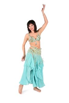 Free Belly Dance Woman Stock Photo - 3865480