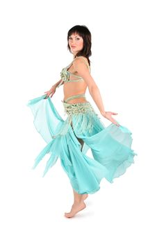 Free Skirt Dance Woman Stock Images - 3865484