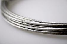 Free Silver Cables Stock Photography - 3865512