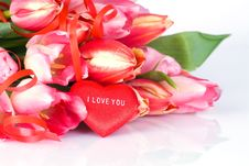 Free Bunch Of Tulips Royalty Free Stock Image - 3865666