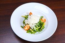 Free Green Salad With King Prawns Royalty Free Stock Photos - 3865808