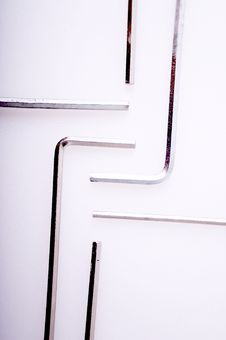 Free Hex Keys Royalty Free Stock Photo - 3865825