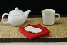 Free Tea And Cookies Stock Photography - 3866032