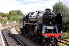 Free Steam Locomotive Royalty Free Stock Photo - 3866085