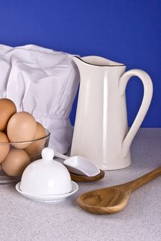 Free Breakfast Fixings Stock Photography - 3866772