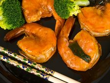 Ketchup Jumbo Shrimp Stock Images
