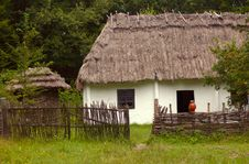 Free Traditional Ukrainian House Stock Photo - 3867630