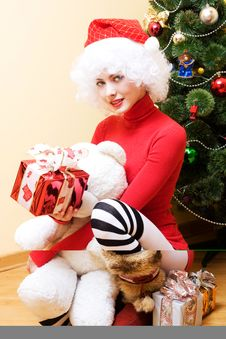 Free Mrs. Santa Stock Photography - 3867942