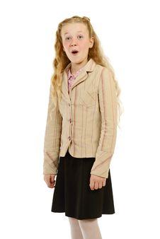 Free Schoolgirl Stock Image - 3868161