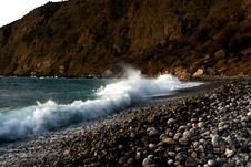 Free Wave In Crimea Royalty Free Stock Photography - 3868547