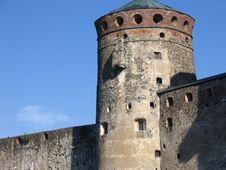 Medieval Castle In Savonlinna Royalty Free Stock Photos