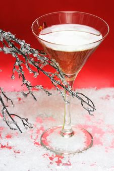 Free Glass With Champagne Royalty Free Stock Photos - 3869328