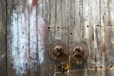 Knockers On Door Royalty Free Stock Photos