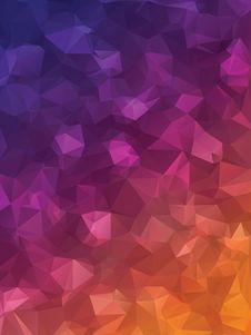 Free Purple Triangles Royalty Free Stock Images - 38638459