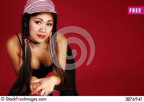 Free Beautiful Filipino Woman Stock Image - 3876941