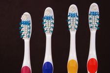 Free Toothbrushes Royalty Free Stock Photography - 3870227