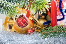 Free Christmas Decorations. Stock Photos - 3870383
