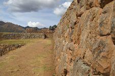 Free Inca Castle Ruins In Chinchero Stock Image - 3870681