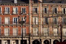 Free Historical Plaza Mayor Royalty Free Stock Photo - 3870695