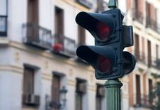 Free Old Traffic Light Stock Images - 3870704