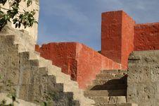 Free Santa Catalina Monastery In Arekipa Royalty Free Stock Image - 3870706