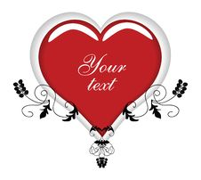 Free Fancy Heart Ornament Royalty Free Stock Images - 3870829