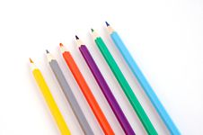 Free Colorful Pencils Royalty Free Stock Photo - 3870875