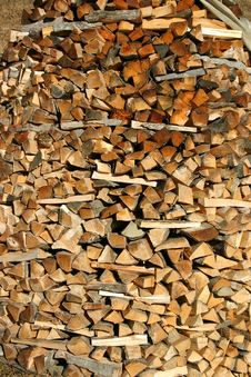 Free Fire Wood Royalty Free Stock Photo - 3871175