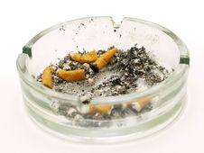 Free Ashtray Royalty Free Stock Photography - 3871677