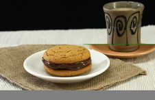 Free Cookies And Coffee Stock Image - 3871891
