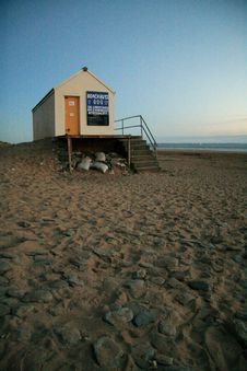 Free Beach Hut Stock Image - 3872711