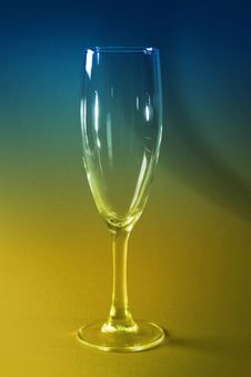 Free Blue And Yellow Glass Stock Photo - 3872960