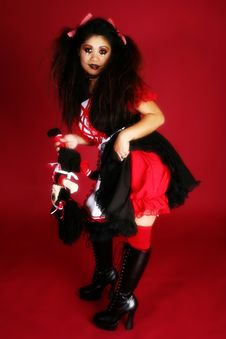 Free Beautiful Filipino Doll Royalty Free Stock Photo - 3872985