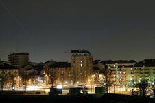 Turin At Night Royalty Free Stock Photos