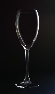 Free Empty Glass Royalty Free Stock Photography - 3874097